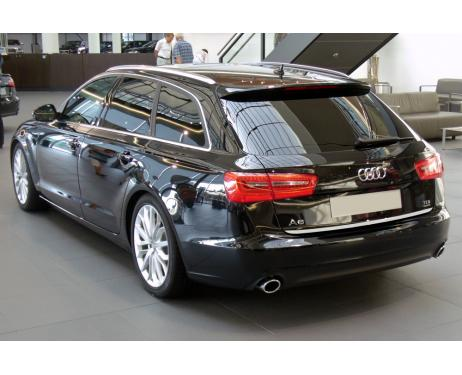 Baguette de coffre chromée Audi A6 Série 4 Avant 1015  Audi A6 Série 4 Phase 2 Avant 1418