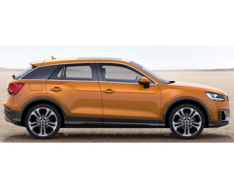 Side windows chrome trim Audi Q2
