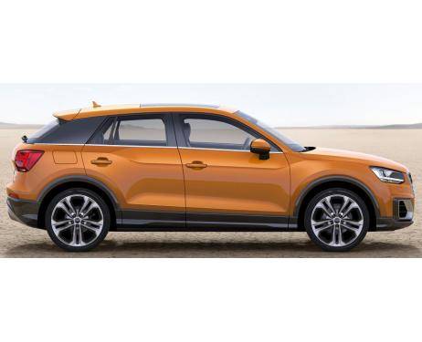 Side windows lower chrome trim Audi Q2
