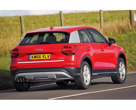 Trunk chrome trim Audi Q2
