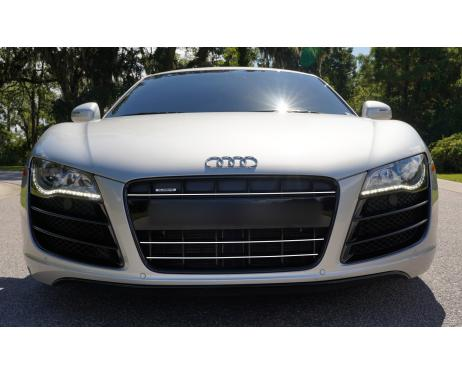 Radiator grill chrome moulding trim Audi R8