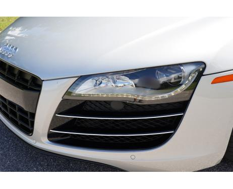 Chrome moulding trim for vents Audi R8