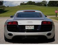 Trunk chrome trim Audi R8