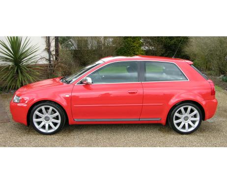 Side windows chrome trim Audi S3 9803