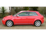 Side windows lower chrome trim Audi S3 9803