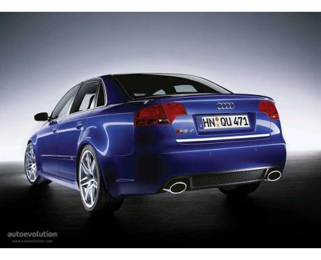 Trunk chrome trim Audi RS4 0508