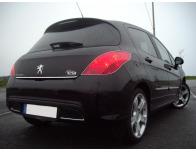 ChromZierleiste für Kofferraum Peugeot 308 0713  Peugeot 308 CC 0915