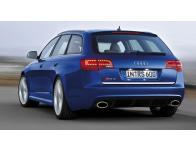 Trunk chrome trim Audi RS6 0819