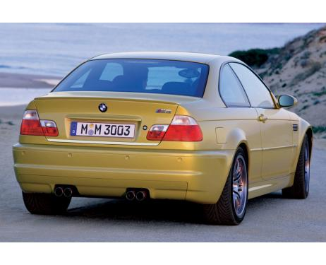 Baguette de coffre chromée BMW M3 E46 0006