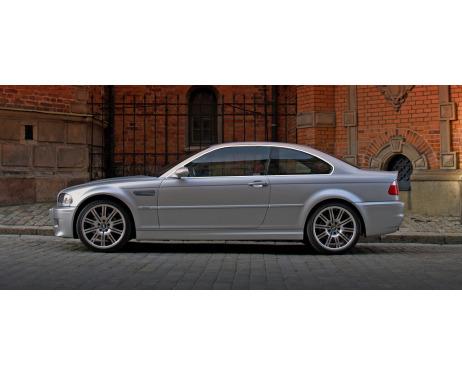 Baguette chromée de contour des vitres latérales BMW M3 E46 0006