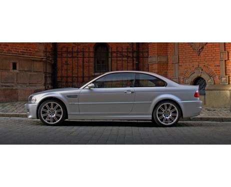 Fascia cromata di contorno inferiore dei vetri laterali BMW M3 E46 0006