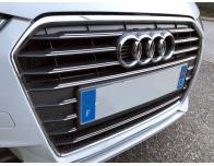 Double baguette de calandre chromée Audi A1