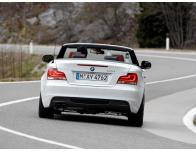 Baguette de coffre chromée BMW Série 1 E88 0813 cabrio