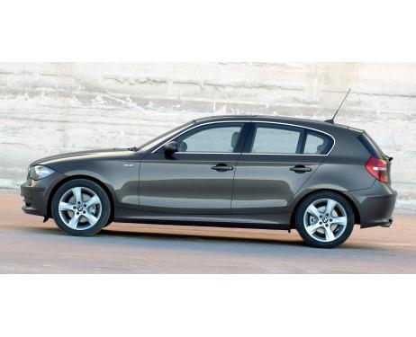 Baguette chromée de contour des vitres latérales BMW Série 1 E87 LCI 0711