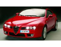 Baguette chromée pour antibrouillards Alfa Romeo Brera