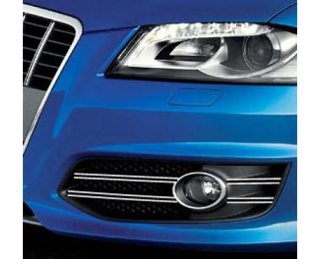 Fog lights dual chrome trim Audi S3 0619  Audi S3 sportback 0619