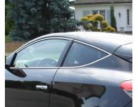 Side windows chrome trim Renault Mégane 3 coupé