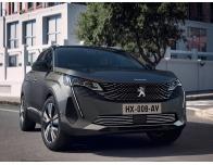 Baguette de calandre inférieure chromée Peugeot 3008 II phase 2 2021
