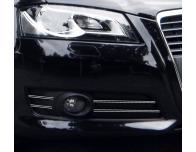 Double baguette chromée pour antibrouillards Audi A3 Série 2 Phase 2 0812  Audi A3 Série 2 Phase 2