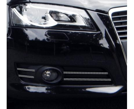 Fog lights dual chrome trim Audi A3 Série 2 Phase 2 0812  Audi A3 Série 2 Phase 2 Sportback 081