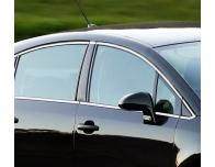 Side windows chrome trim Citroën C4 Berline
