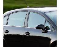 Side windows lower chrome trim Citroën C4 Berline