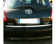 Trunk chrome trim Toyota Auris