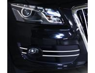 Fog lights chrome trim Audi Q5 v2