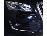 Chrome moulding trim for fog lights contours Audi Q5