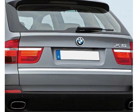 Trunk chrome trim BMW X5
