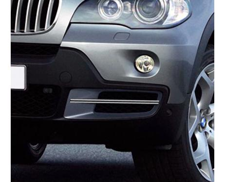 Fog lights dual chrome trim BMW X5