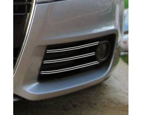 Fog lights dual chrome trim Audi TT Série 2 0614
