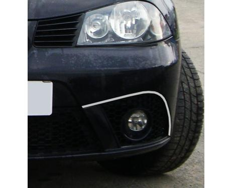 Fog lights chrome trim Seat Ibiza 0108