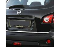 Trunk chrome trim Nissan Qashqai 2 08102 phase 2 10142 phase 30710phase 2 1014phase 3