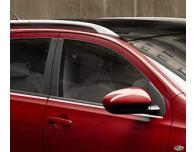 Baguette chromée de contour inférieur des vitres Nissan Qashqai 2 08102 phase 2 10142 phase 3