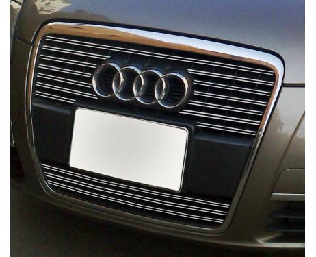 Doppia cornice per griglia radiatore cromata Audi A6 Série 3 Avant 0508Série 3 Berline 0508 v2