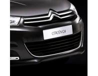 Radiator grill contours chrome trim Citroën C4 1119