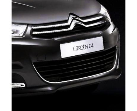 Radiator grill contours chrome trim Citroën C4 1120