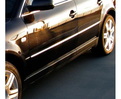 Baguette de protection latérale chromée VW Passat 0510 VW Passat 1021 VW Passat 9505