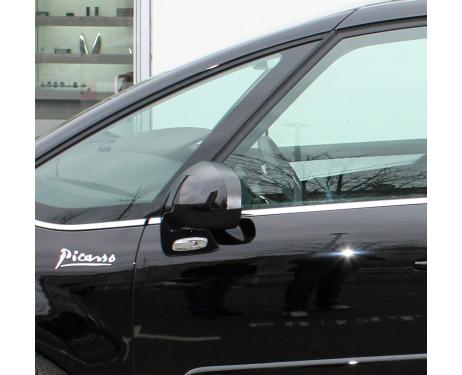 Baguette chromée de contour inférieur des vitres Citroën C4 Picasso 0712