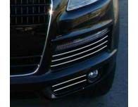 Fog lights chrome trim Audi Q7