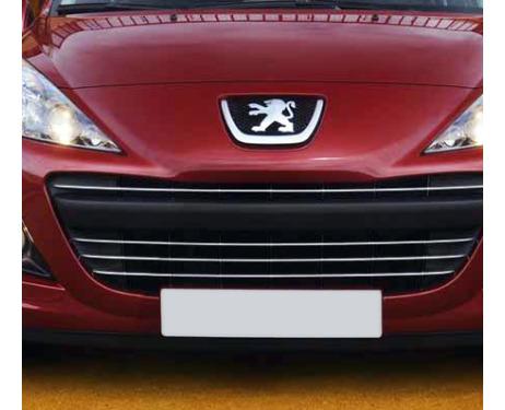 Radiator grill chrome moulding trim Peugeot 207 0919 Peugeot 207 CC 0919 Peugeot 207 SW 0919