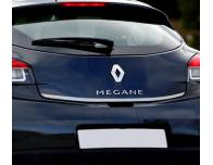 Trunk chrome trim Renault Mégane 3 coupé