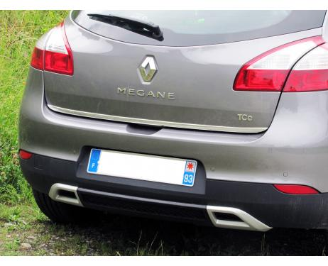Trunk chrome trim Renault Mégane 3