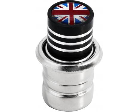 Allumecigare Angleterre RoyaumeUni Anglais Union Jack British England noir