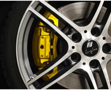 BremssattellackSet gelb