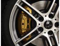 BremssattellackSet goldfarbig