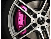 BremssattellackSet metallisch rosa