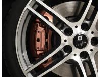 BremssattellackSet metallisches Kupfer