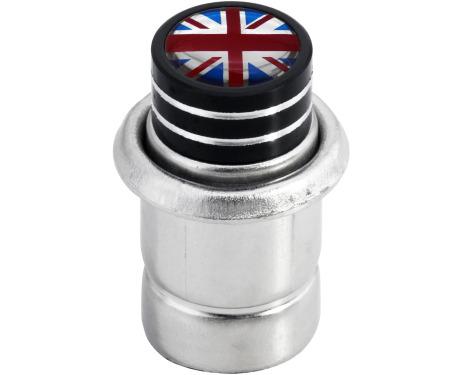 Cigarette lighter English Flag UK England British Union Jack short black